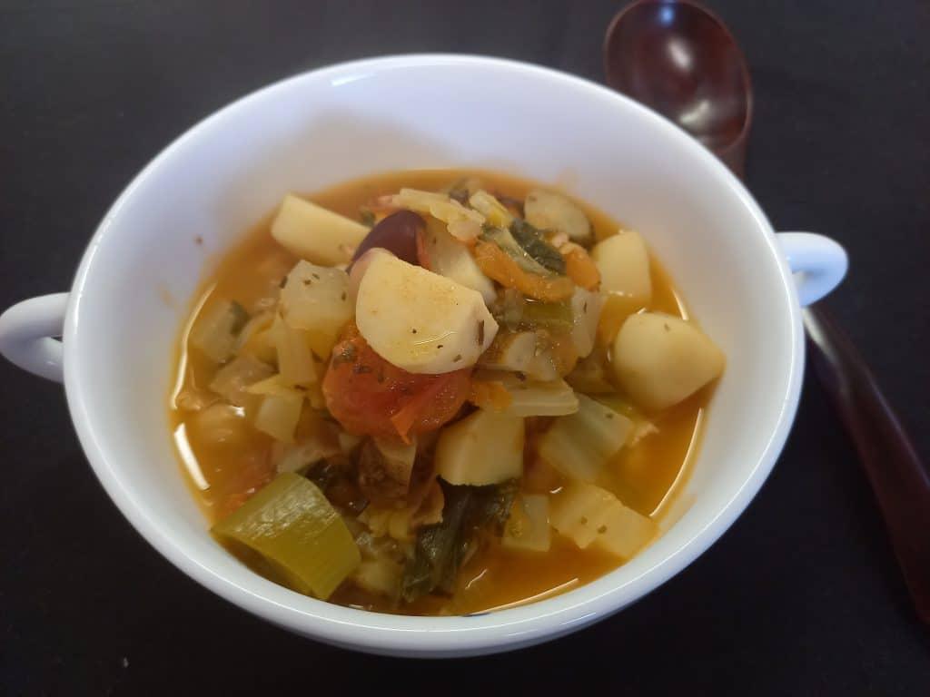 冬野菜の和風ミネストローネ