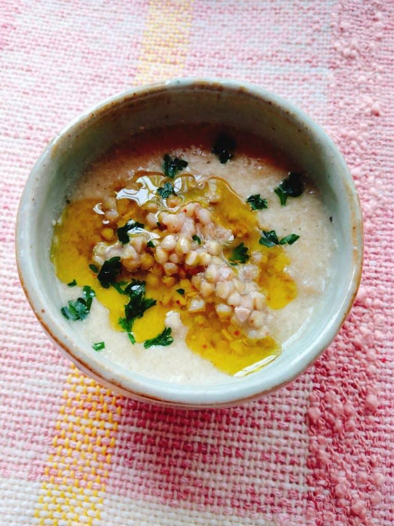 キャベツと大根の主食スープ