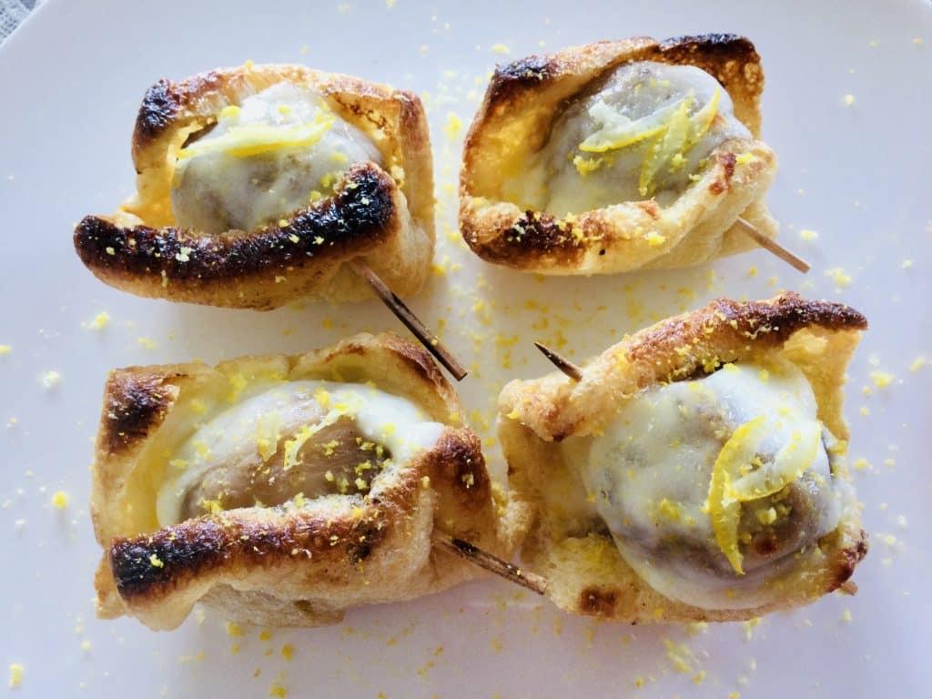 里芋の包み焼き