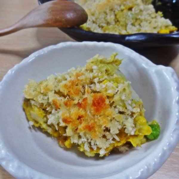 里芋とツナのカレースコップコロッケ