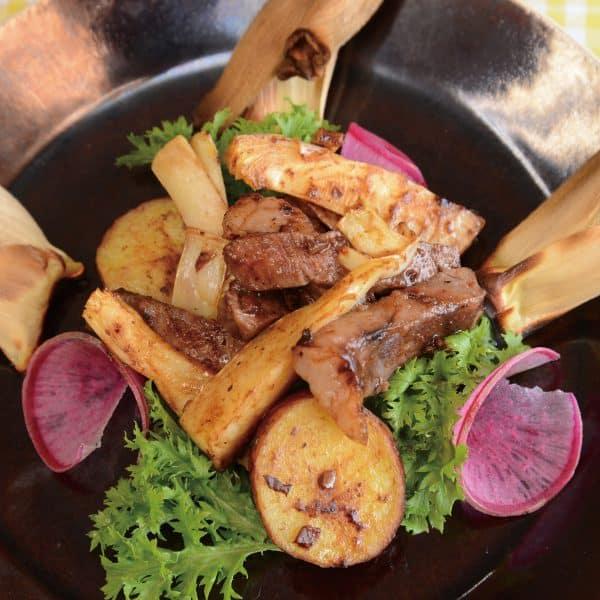 タケノコと牛肉のトウチ炒め
